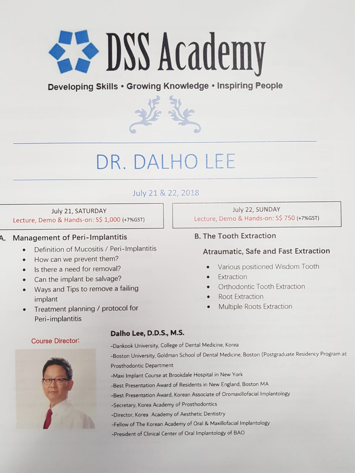 bone augmentation course
